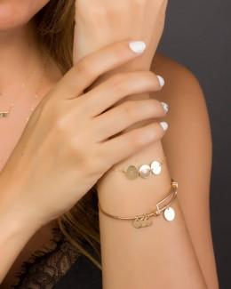 Personalized Bracelet for her • Initial Bracelet
