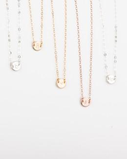 Personalized Choker Necklace • Initial Choker