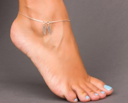 Boho Anklet - Feather Anklet