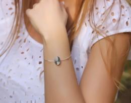 Vintage Silver Bracelets / Sterling Silver Friendship Bracelets | Moon in Orbit
