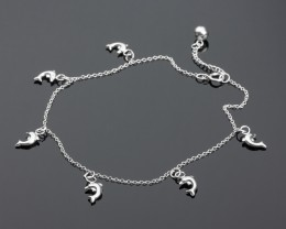 Anklet Jewellery - Dolphin Anklet