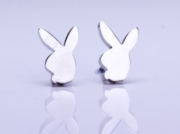 Tiny Bunny Earrings / Fashionable Earrings | Playboy