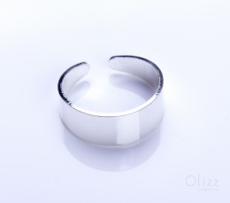 Fashion Silver Ring / Gold and Silver Band Ring | Paeon