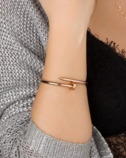Bangle Bracelet • Rose Gold Cuff Bracelet