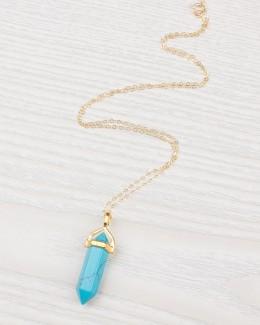 Gemstone Point Necklace
