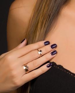 Clover Ring •  Midi Ring