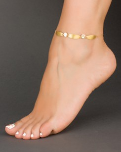 Personalized Anklet - Initial Ankle Bracelet